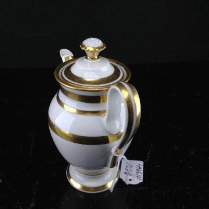 Vienna miniature coffee pot, cauliflower finial, c.1785 -3603
