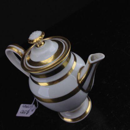 Vienna miniature coffee pot, cauliflower finial, c.1785 -3605