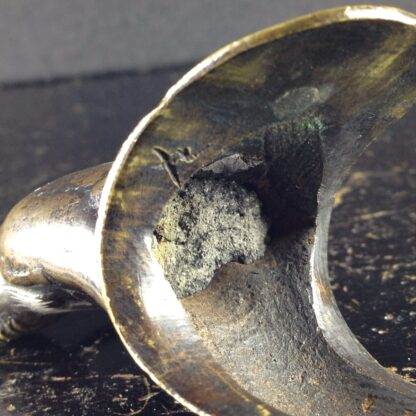 Japanese bronze sage on horse, Meiji period -3966