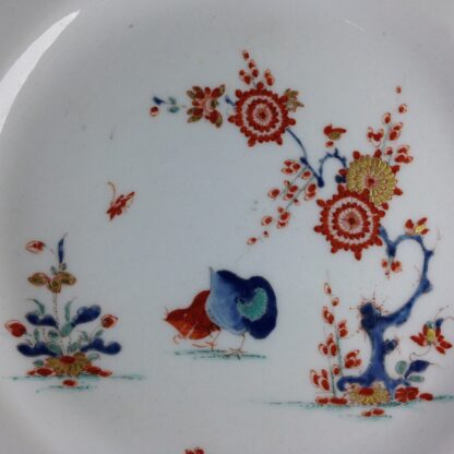 Bow octagonal plate, Kakiemon Quail pattern,C. 1765 -4202