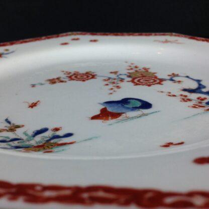 Bow octagonal plate, Kakiemon Quail pattern,C. 1765 -4205