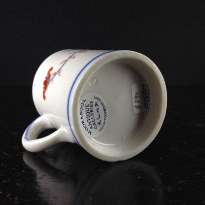 Doccia coffee can, Imari garden pattern, c. 1770 -4409