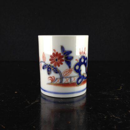 Doccia coffee can, Imari garden pattern, c. 1770 -4410