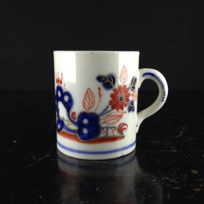 Doccia coffee can, Imari garden pattern, c. 1770 -0