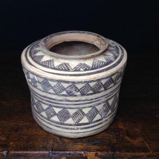 Indus Valley pottery vessel, diamond pattern, circa 3,000 BC-0