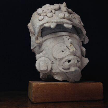 Pre-Columbian Jaguar mask fragment, Veracruz, 300-900 AD -4776