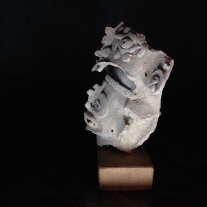Pre-Columbian Jaguar mask fragment, Veracruz, 300-900 AD -4778