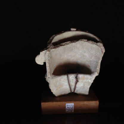 Pre-Columbian Jaguar mask fragment, Veracruz, 300-900 AD -4779