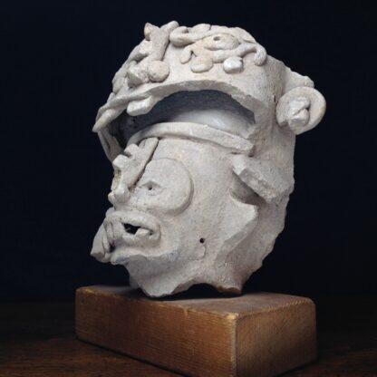 Pre-Columbian Jaguar mask fragment, Veracruz, 300-900 AD -4781