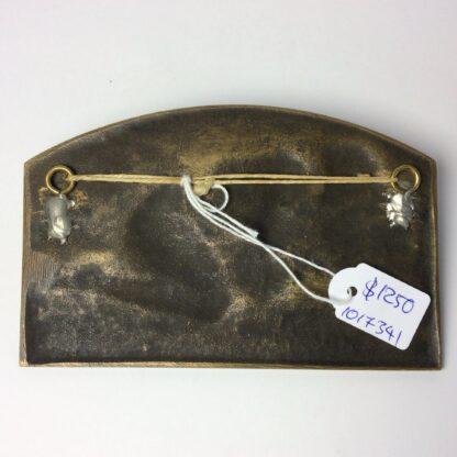 Desvignes, Louis - Bronze plaque - female nude - c. 1920 -5786