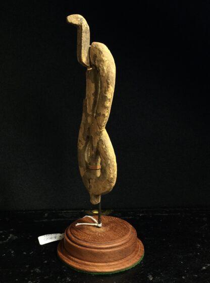 Egyptian wooden Uraeus - cobra - late period, c. 300 BC -10496
