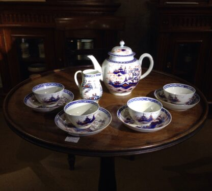 Liverpool tea service, Christian & Co, Chinese Landscapes, C. 1770 -0