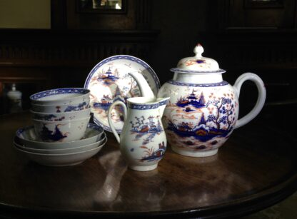 Liverpool tea service, Christian & Co, Chinese Landscapes, C. 1770 -8821