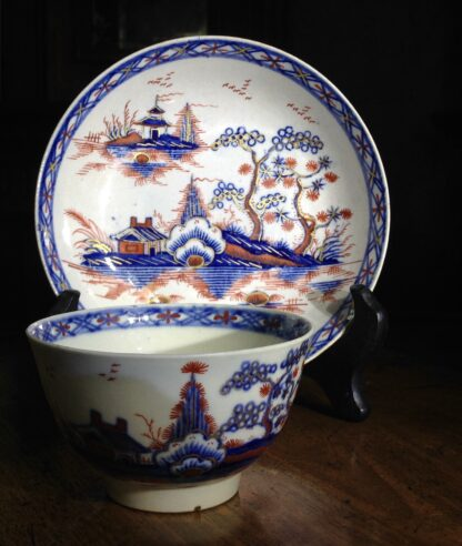 Liverpool tea service, Christian & Co, Chinese Landscapes, C. 1770 -8823