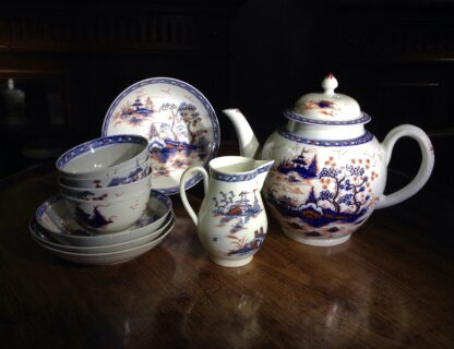 Liverpool tea service, Christian & Co, Chinese Landscapes, C. 1770 -8824