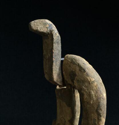 Egyptian wooden Uraeus - cobra - late period, c. 300 BC -10502