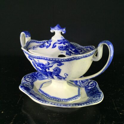 Rare Riley tureen from the Drapers Guild, C. 1820 -9404