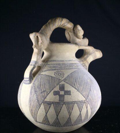 Iranian buffware zoomorphic vessel, 8th-7th century BC -9443