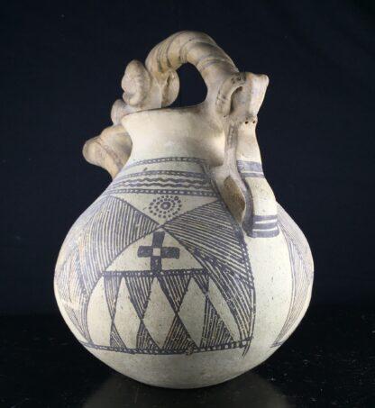 Iranian buffware zoomorphic vessel, 8th-7th century BC -9444