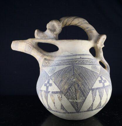 Iranian buffware zoomorphic vessel, 8th-7th century BC -9445
