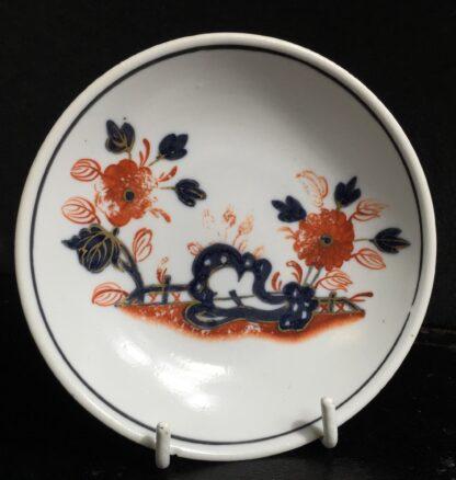 Doccia cup & saucer, Imari garden pattern, c. 1760 -10223