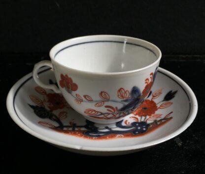 Doccia cup & saucer, Imari garden pattern, c. 1760 -10226