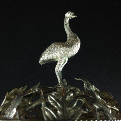 Australian silver mounted emu egg, 19th century -1648