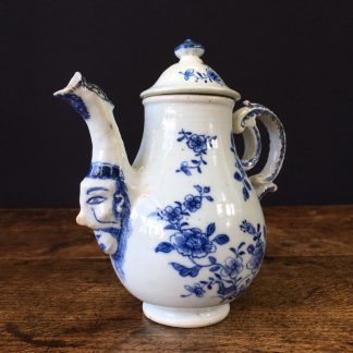 Chinese export ewer with mask, after a Meissen original, C.1745 -0