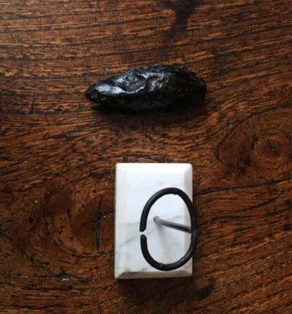 Falling Star - Indochinite tektite, teardrop form -20867