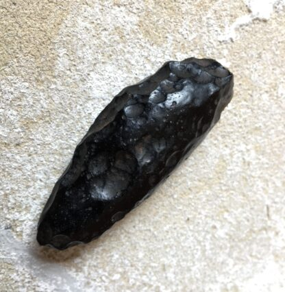 Falling Star - Indochinite tektite, teardrop form -20890