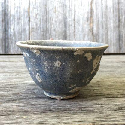 Hoi An Shipwreck: Vietnamese deep blue glaze wine cup, C. 1480. -29871