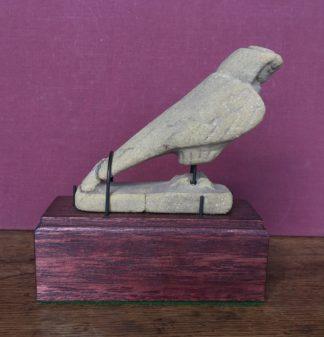 Sandstone falcon, Egyptian Greco-Roman -0