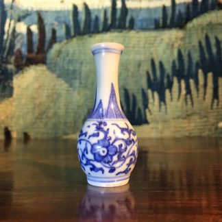 Miniature Chinese vase, from the Hatcher shipwreck, C. 1645 -0