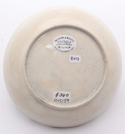 Platinum lustre Pearlware teabowl & saucer, grape vine pattern, c.1820 -9027