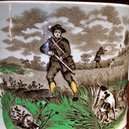 Cork, Edge & Malkin mug, 'Field Sports' prints, c.1860-71-33021