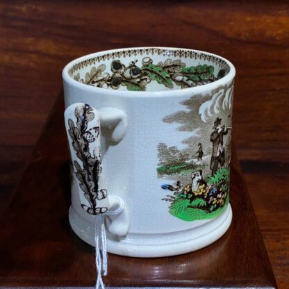 Cork, Edge & Malkin mug, 'Field Sports' prints, c.1860-71-33019