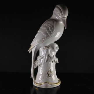 German porcelain figure of a bird, circa 1895-0