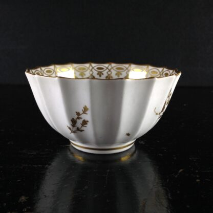 Worcester teabowl, Giles decorated with gilt flowers, C. 1770 -2109