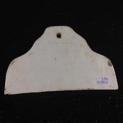 Creamware wine bin label, PORT , C. 1800 -2163