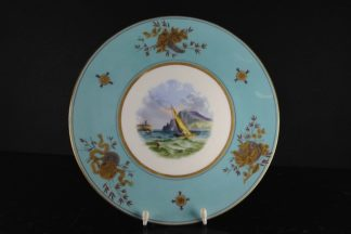 Wedgwood Bone China Plate, scenic, C. 1870-0