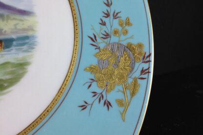 Wedgwood Bone China Plate, scenic, C. 1870-2365