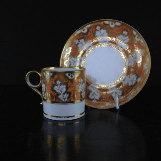 Barr Flight & Barr coffee can & saucer c.1810 -0