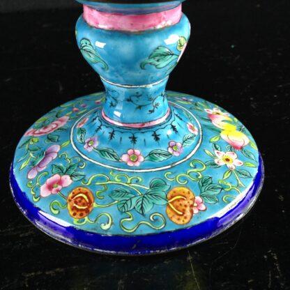 Chinese enamel goblet, lotus form, circa 1770 -2603