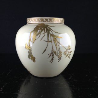 Copeland vase with gilded insects & branches, c.1880 -0