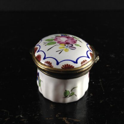 English enamel box, circa 1760 -2988