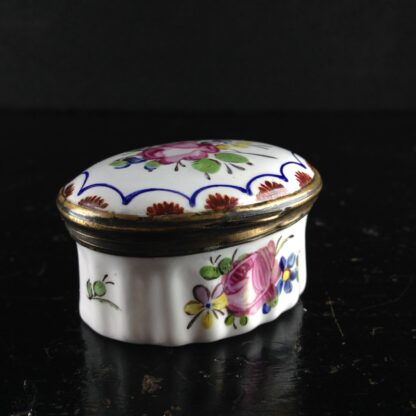 English enamel box, circa 1760 -0