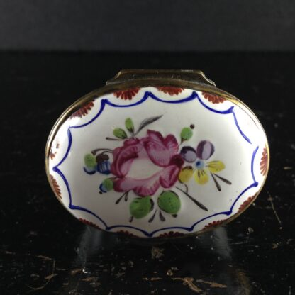 English enamel box, circa 1760 -2993