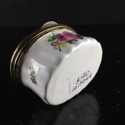 English enamel box, circa 1760 -2995
