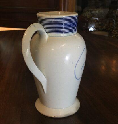 English pearlware mug, imitation of German saltglaze, c. 1780 -12413