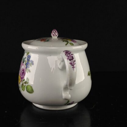 Meissen cream pot , deutscheblumen flowers, c.1765 -3174